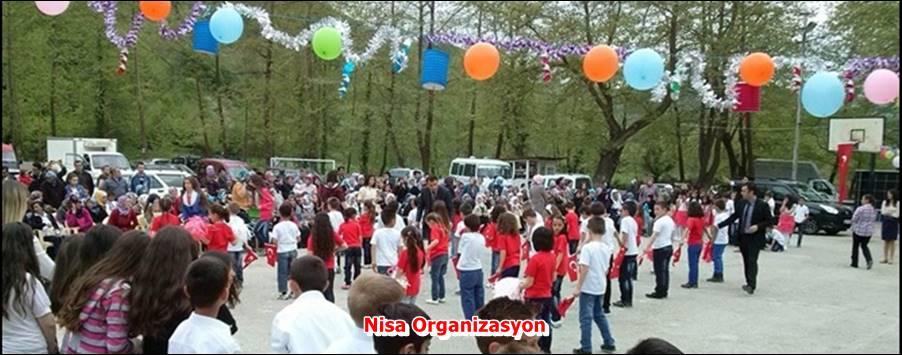 23 Nisan Okul Etkinlik Organizasyonu