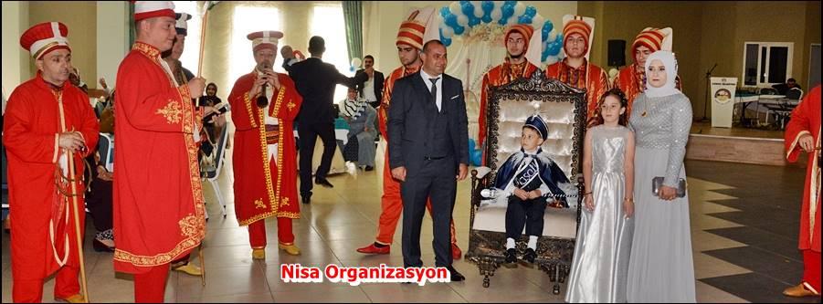 Kiralık Mehter Takımı, Nisa Organizasyon