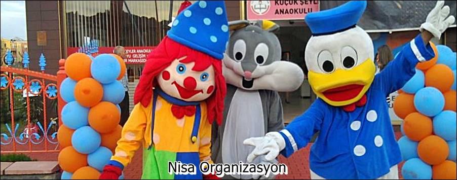 Açılış Organizasyonu Maskot Kiralama