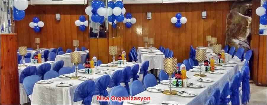 Balon Süslemeleri ile Mekan Düzenlemesi