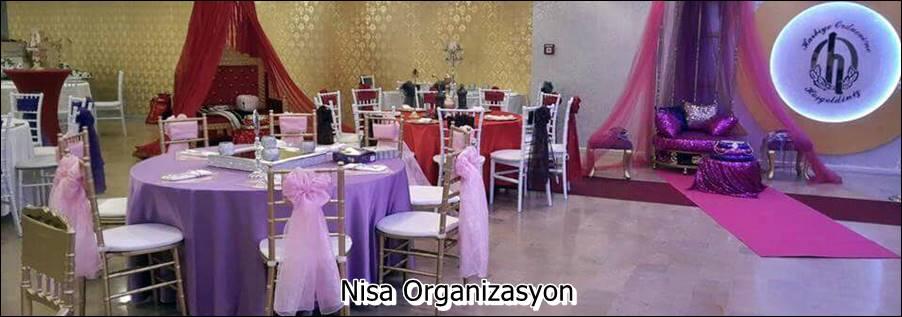 Düğün Mekanı Süslemeleri