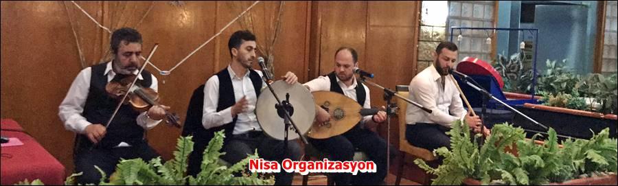 İstanbul ilahi Grubu, Nisa Organizasyon