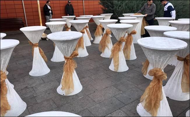 Kokteyl Masası Kiralama Hizmeti