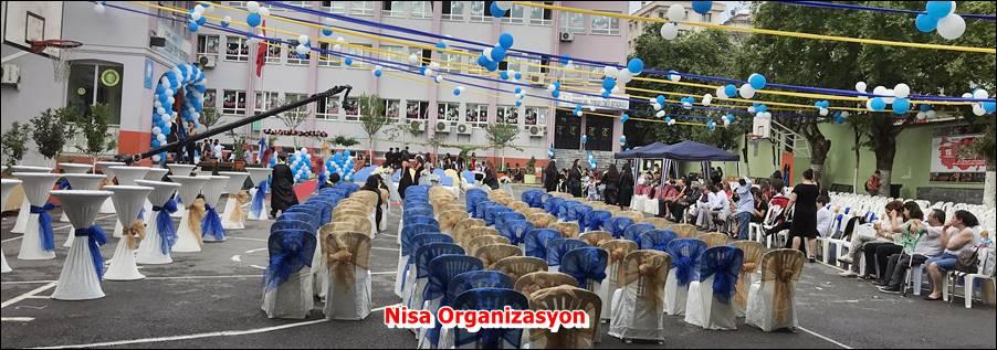 Mezuniyet Töreni Süsleme Organizasyonu
