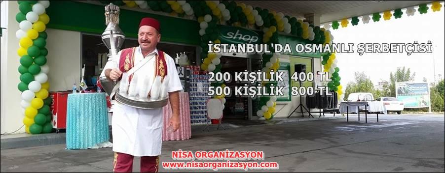 Osmanlı Şerbetçisi Kiralama Fiyatları