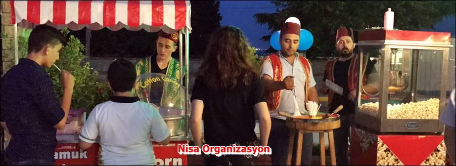 Patlamış Mısır Makinesi Kiralama, Nisa Organizasyon