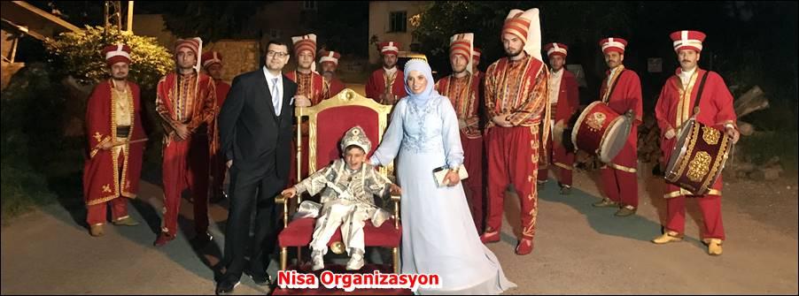 Sünnet Düğünü Organizasyonu için Mehter Takımı Kiralama