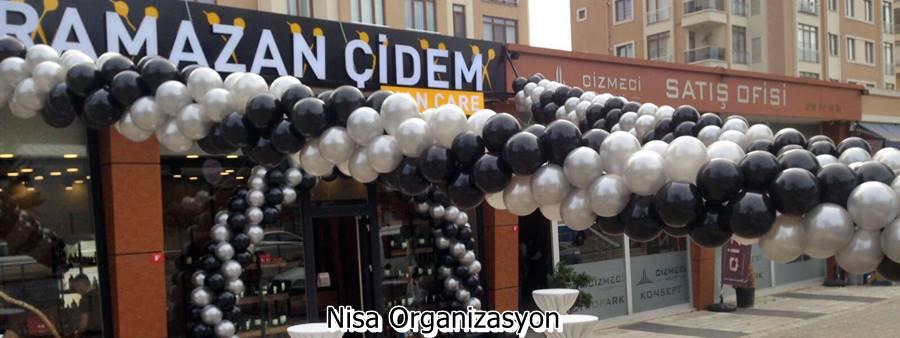 zincir balon süsleme firması