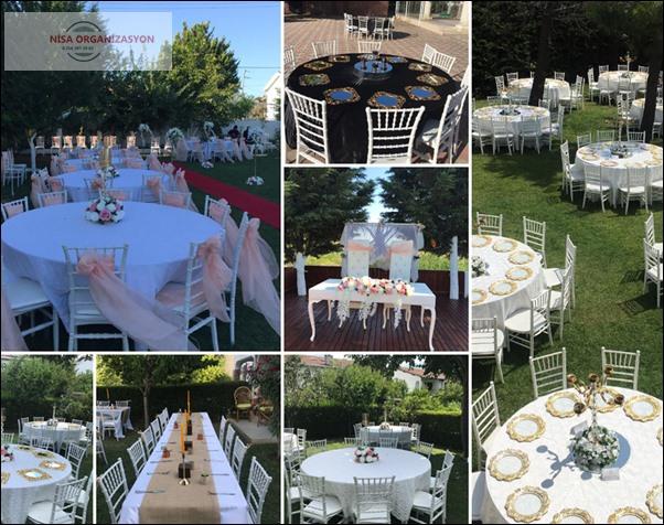 açık alanda düğün organizasyonu