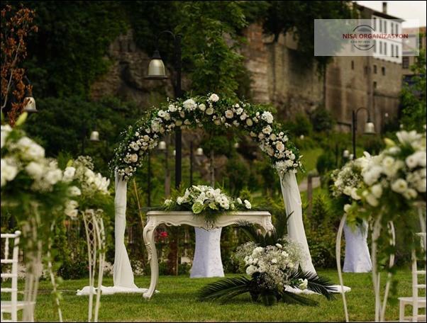 düğün için arka fon kiralama